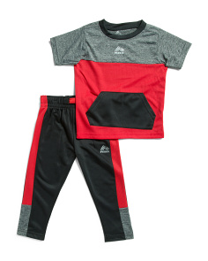 Toddler Boys 2pc Tricot Pant Set