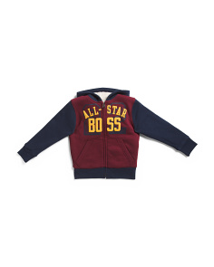 Boys All Star Boss Faux Sherpa Hoodie