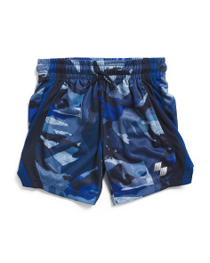 Boys Camo Basketball Shorts