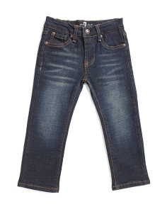 Toddler Girls 5 Pocket Jeans