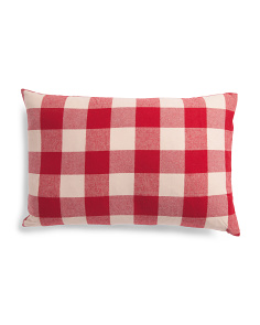 18x27 Buffalo Plaid Pillow