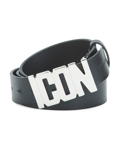 Made In Italy Icon Leather Belt