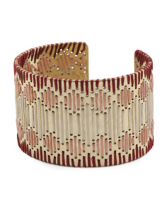 Threaded Cuff Bracelet