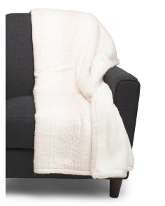 Misty Sherpa Back Throw