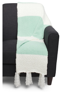 Popcorn Chenille Throw
