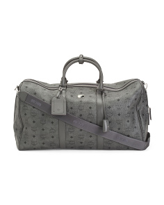 Made In Italy Large Leather Weekender