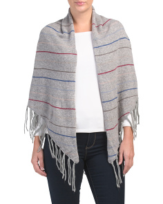 Cashmere Travel Wrap Sweater