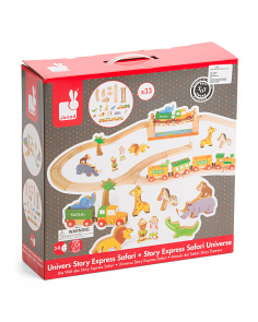 Story Express Safari Train Set