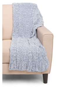 Chenille Annie Throw