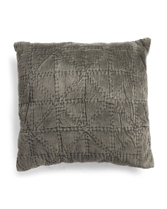 Made In India Velvet Euro Pillow