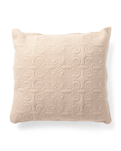 Made In India 26x26 Luxe Linen Pillow