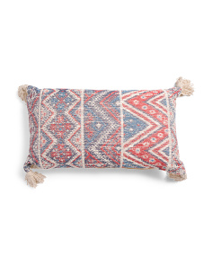 Made In India 16x26 Chevron Pillow
