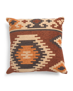 Made In India 20x20 Kilim Pillow
