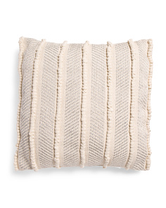 Made In India 24x24 Jersey Loop Pillow