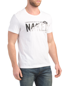 Naked Graphic Tee