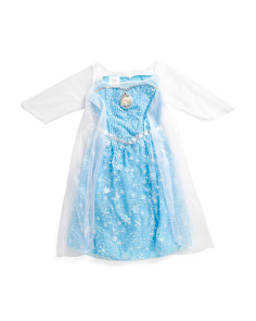 Frozen Elsa Musical Light Up Dress Size 4 To 6x