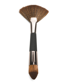 Professional Dual Ended Contour Brush