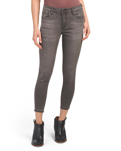 Petite Donna High Rise Skinny Ankle Jeans