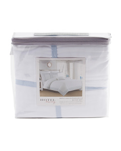 Dallas Eyelet Duvet Set