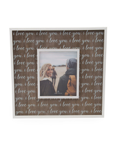 20x20 Love You Sentiment Wall Frame