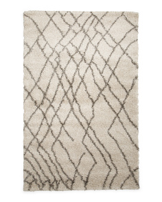 Made In Turkey 5x8 Zingy Shag Area Rug