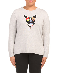 Plus Frenchie Sweater