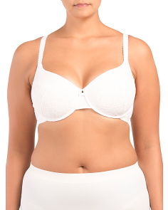 Jaquard Full Figure Bra