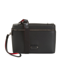 Made In Italy Kypi Leather Pouch
