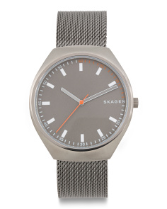 Men's Grenen Mesh Strap Watch