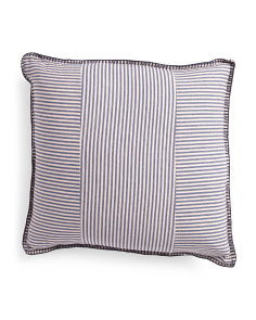 20x20 Striped Pillow