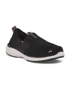 Slip On Comfort Suede Sneakers