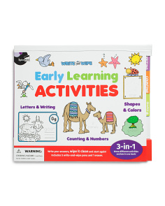 Early Learning Activities Book