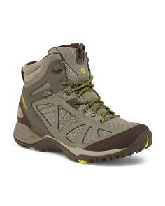 Waterproof Nubuck Leather Hiking Boots