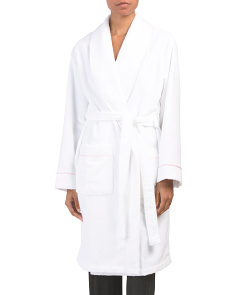 Terry Spa Robe With Piping