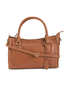 Eva Leather Satchel