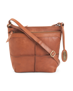 Leather Broomfield Crossbody