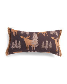 Made In Usa 14x27 Woodland Lodge Pillow