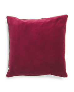 20x20 Luna Park Velvet Pillow