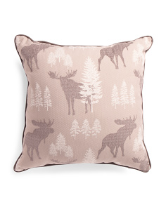 Made In Usa 26x26 Oversized Woodland Pillow