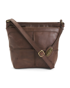 Broomfield Leather Crossbody