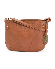 Leather Wessex Crossbody