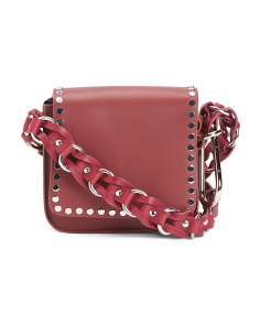 Made In Italy Minza Leather Crossbody