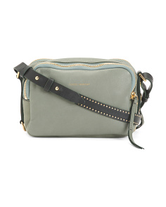 Made In Italy Tanley Leather Crossbody