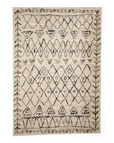 Made In Turkey Bohemian Graphic Area Rug