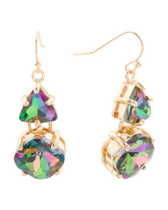 Coordinating Crystal Drop Earrings