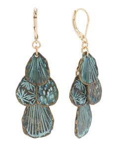 Patina Teardrops Earrings