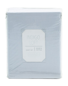 200tc Eddie Stripe Sheet Set