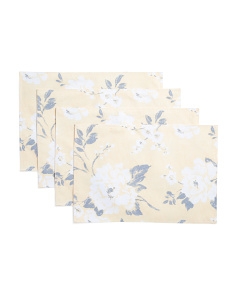 Set Of 4 Maxine Floral Placemats