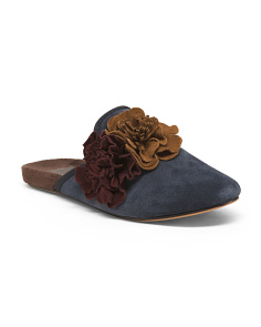 Lilah Scuff Suede Slippers