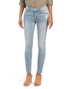 Krista Mid Rise Ankle Skinny Jeans
